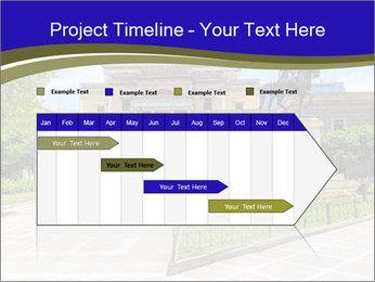 Greek administrative building PowerPoint Template - Slide 25
