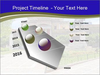 Greek administrative building PowerPoint Template - Slide 26