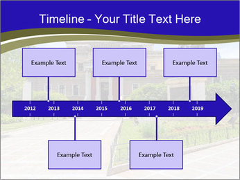 Greek administrative building PowerPoint Template - Slide 28
