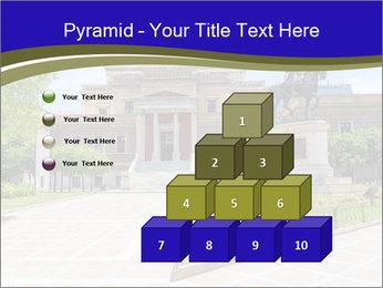 Greek administrative building PowerPoint Template - Slide 31