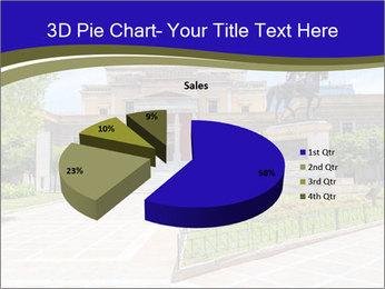 Greek administrative building PowerPoint Template - Slide 35