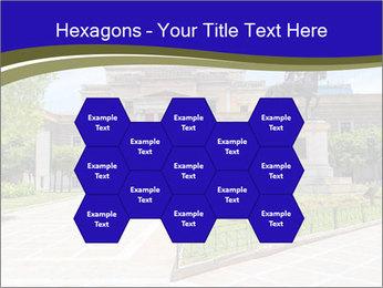 Greek administrative building PowerPoint Template - Slide 44