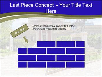 Greek administrative building PowerPoint Template - Slide 46