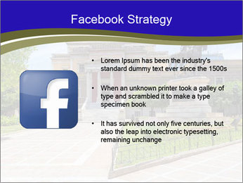 Greek administrative building PowerPoint Template - Slide 6