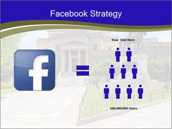 Greek administrative building PowerPoint Template - Slide 7