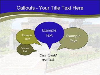 Greek administrative building PowerPoint Template - Slide 73