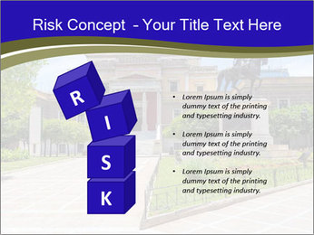 Greek administrative building PowerPoint Template - Slide 81