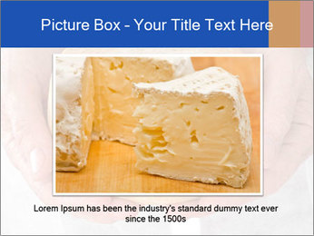 Fresh cheese in the hands PowerPoint Templates - Slide 15