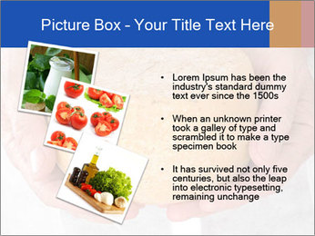 Fresh cheese in the hands PowerPoint Templates - Slide 17