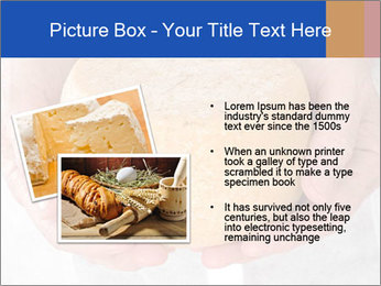 Fresh cheese in the hands PowerPoint Templates - Slide 20
