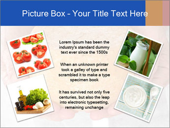 Fresh cheese in the hands PowerPoint Templates - Slide 24