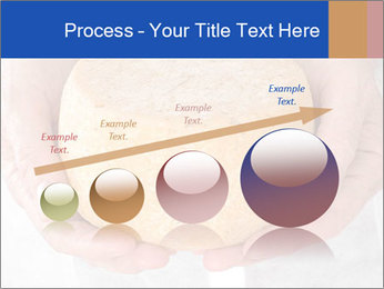 Fresh cheese in the hands PowerPoint Templates - Slide 87