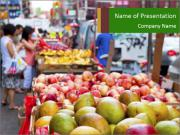Vegetable Market PowerPoint Templates