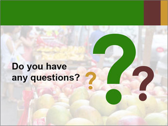 Vegetable Market PowerPoint Templates - Slide 96