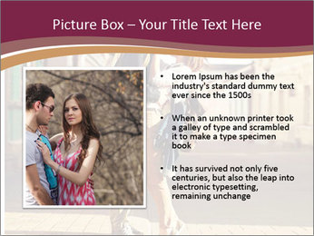 Couple kissing PowerPoint Template - Slide 13
