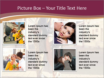 Couple kissing PowerPoint Template - Slide 14