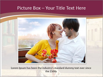 Couple kissing PowerPoint Template - Slide 15