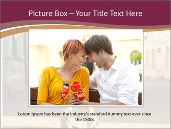 Couple kissing PowerPoint Template - Slide 16