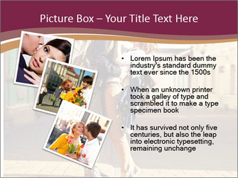 Couple kissing PowerPoint Template - Slide 17