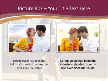 Couple kissing PowerPoint Template - Slide 18