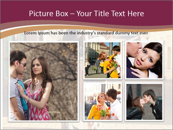 Couple kissing PowerPoint Template - Slide 19