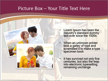 Couple kissing PowerPoint Template - Slide 20