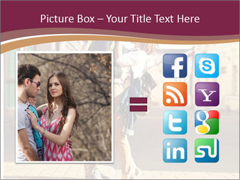 Couple kissing PowerPoint Template - Slide 21