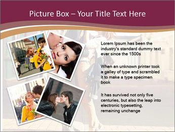 Couple kissing PowerPoint Template - Slide 23