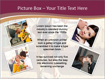 Couple kissing PowerPoint Template - Slide 24