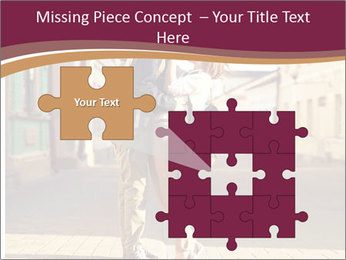 Couple kissing PowerPoint Template - Slide 45
