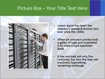 Blue Room Communications PowerPoint Template - Slide 13