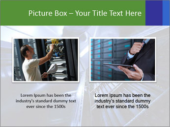 Blue Room Communications PowerPoint Template - Slide 18