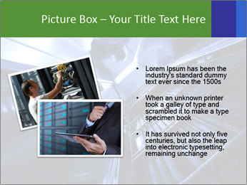 Blue Room Communications PowerPoint Template - Slide 20