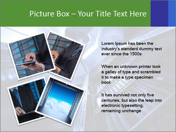 Blue Room Communications PowerPoint Template - Slide 23