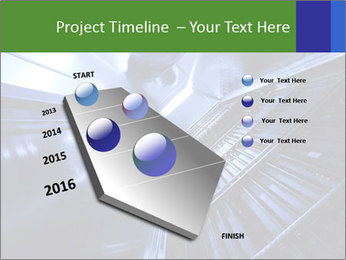 Blue Room Communications PowerPoint Template - Slide 26