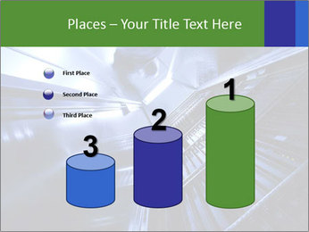 Blue Room Communications PowerPoint Template - Slide 65