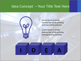 Blue Room Communications PowerPoint Template - Slide 80