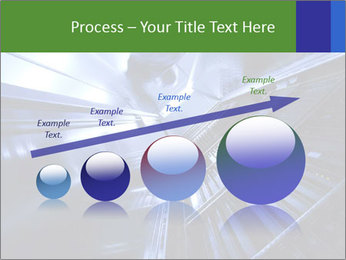 Blue Room Communications PowerPoint Template - Slide 87