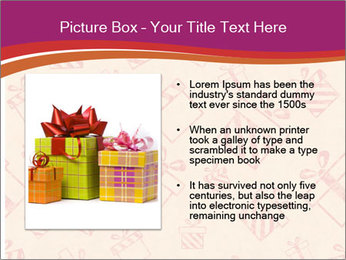 Drawn gifts PowerPoint Template - Slide 13