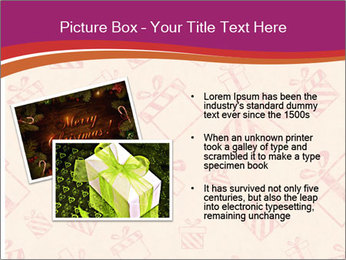Drawn gifts PowerPoint Template - Slide 20