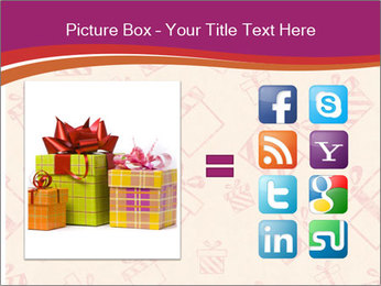 Drawn gifts PowerPoint Template - Slide 21