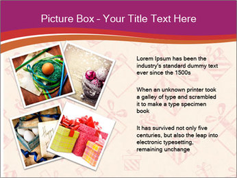 Drawn gifts PowerPoint Template - Slide 23
