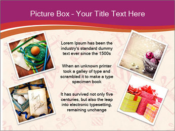 Drawn gifts PowerPoint Template - Slide 24