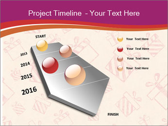 Drawn gifts PowerPoint Templates - Slide 26