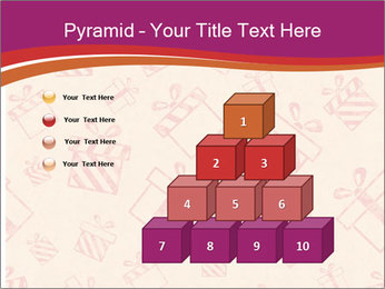 Drawn gifts PowerPoint Template - Slide 31