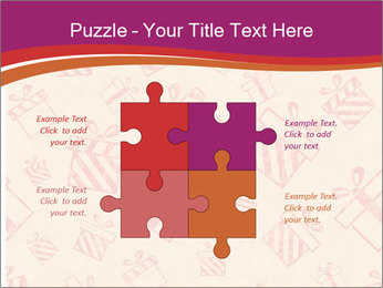 Drawn gifts PowerPoint Templates - Slide 43