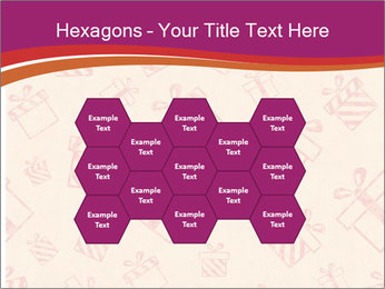 Drawn gifts PowerPoint Templates - Slide 44