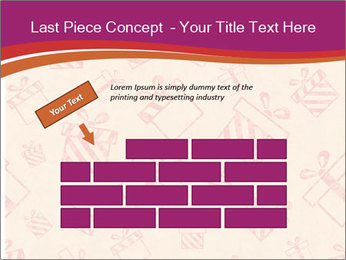 Drawn gifts PowerPoint Template - Slide 46