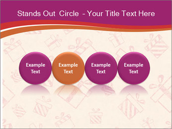 Drawn gifts PowerPoint Templates - Slide 76