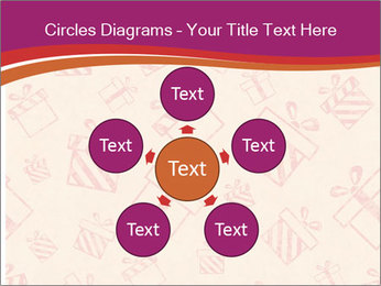 Drawn gifts PowerPoint Template - Slide 78